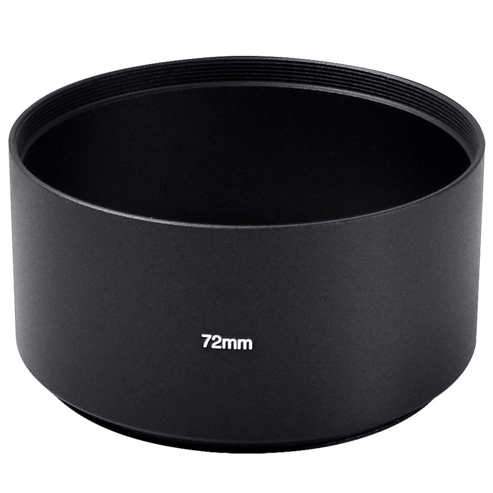 MENGS® 72mm Aluminum Telephoto Lens Hood for Canon Nikon Sony Fuji Pentax Olympus Digital DSLR Camera