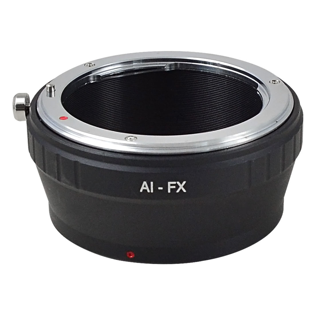 MENGS® AI-FX lens mount adapter ring aluminum and copper material for Nikon AI Lens to Fuji X Pro camera body