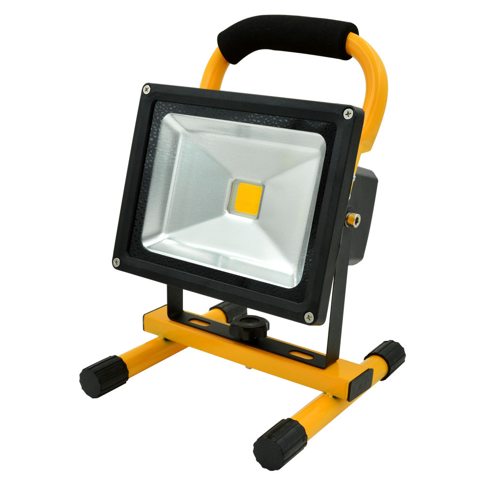 MENGS® 20W Rechargeable LED Flood Light (700lm, AC 100-240V, Cool White, IP65) For Camping / Hiking / Working / Fishing / Emergency Lighting / Home Using / Fire Fighting Etc