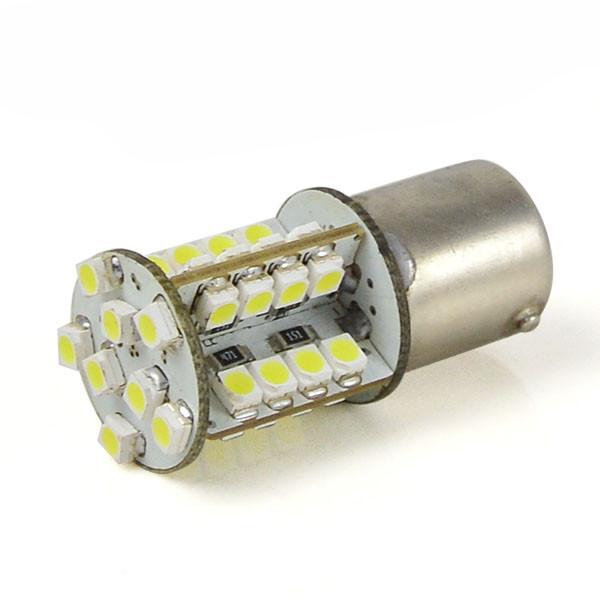 MENGS® BA15S 3W LED Car Light 40x 3528 SMD LEDs Car Turning Light / Reversing Light / Fog Light LED Lamp DC 12V in Cool White Energy-saving Lamp