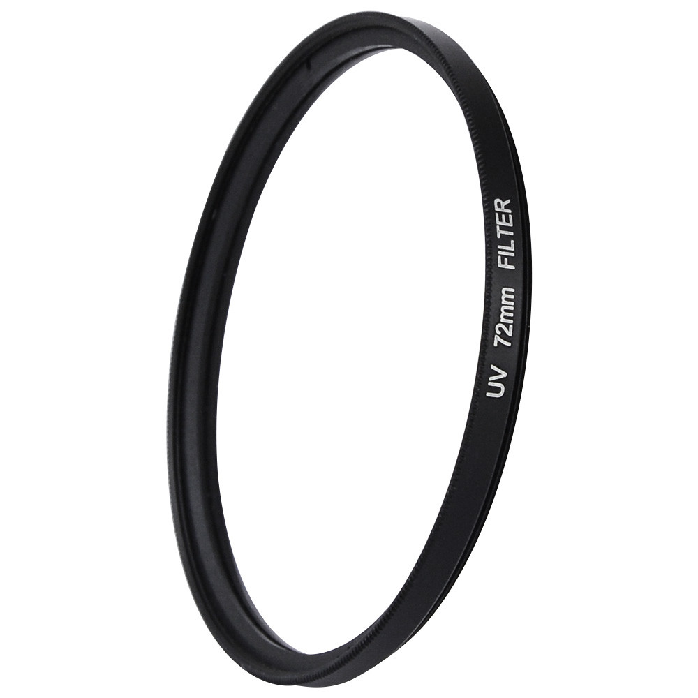 MENGS® 72mm UV Slim Lens Filter With Aluminum Frame for Canon / Nikon / Sony / Fuji / Pentax / Olympus Camera