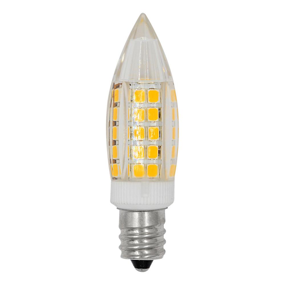 MENGS® E12 6W LED Light 64x 2835 SMD LED Bulb Lamp In Warm White Energy-Saving Light