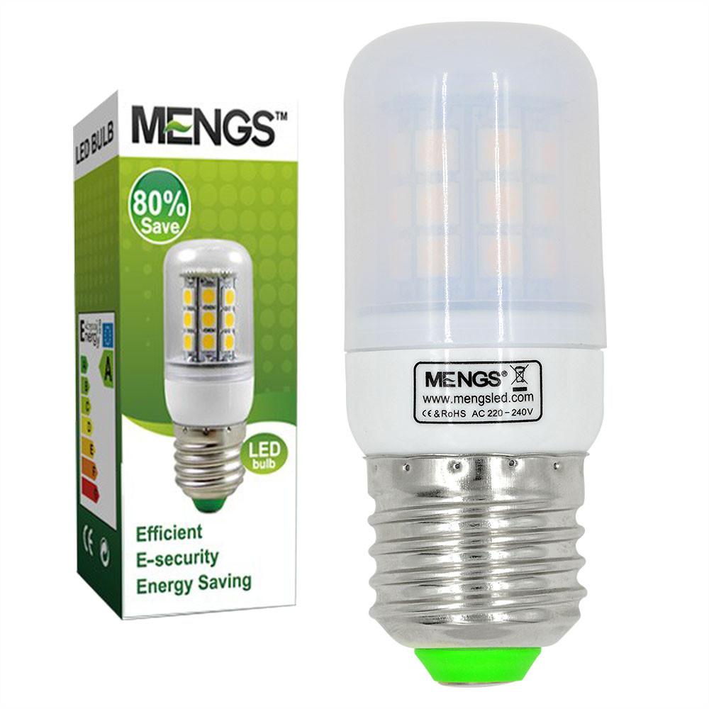 MENGS® E27 5W LED Corn Light 30x 5050 SMD LED Lamp Bulb in Warm White Energy-Saving Light