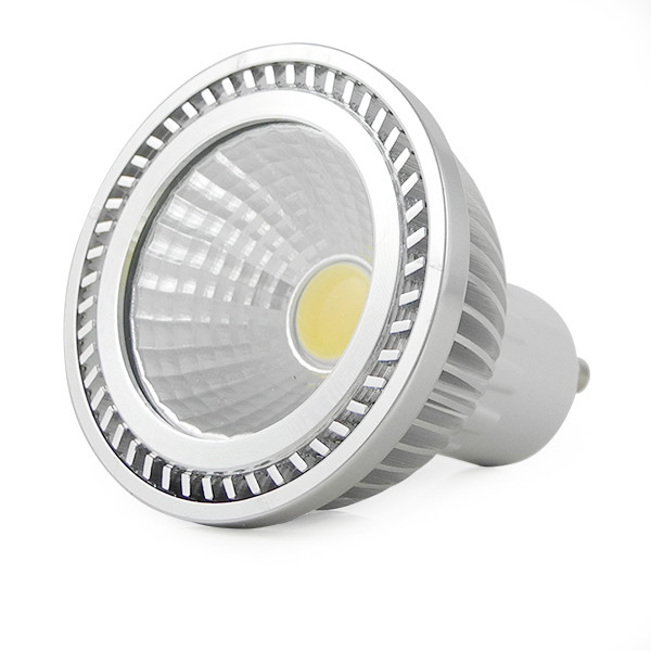 MENGS® GU10 3W LED Spotlight COB LEDs LED Lamp Bulb AC 90V-260V in Cool White Energy-Saving Lamp