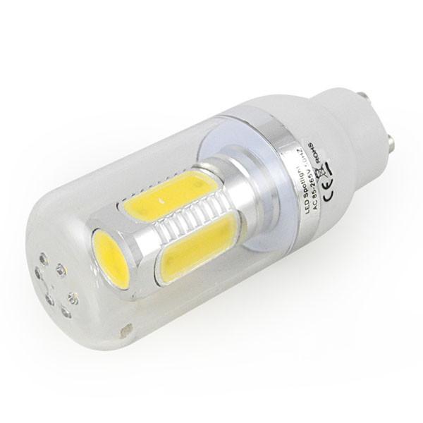 MENGS® GU10 7.5W LED Corn Light 5 COB LEDs LED Bulb AC 85- 265V in Cool White Energy-Saving Lamp