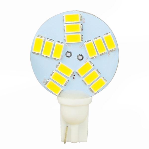 MENGS® T10 4W LED Car Light 15x 5730 SMD LED Lamp Indoor Car Light DC 12V in Cool White Energy-saving Lamp